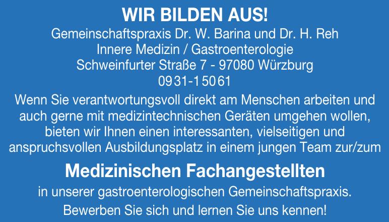 Gemeinschaftspraxis Dr. W. Barina und Dr. H. Reh - Innere Medizin/Gastroenterologie