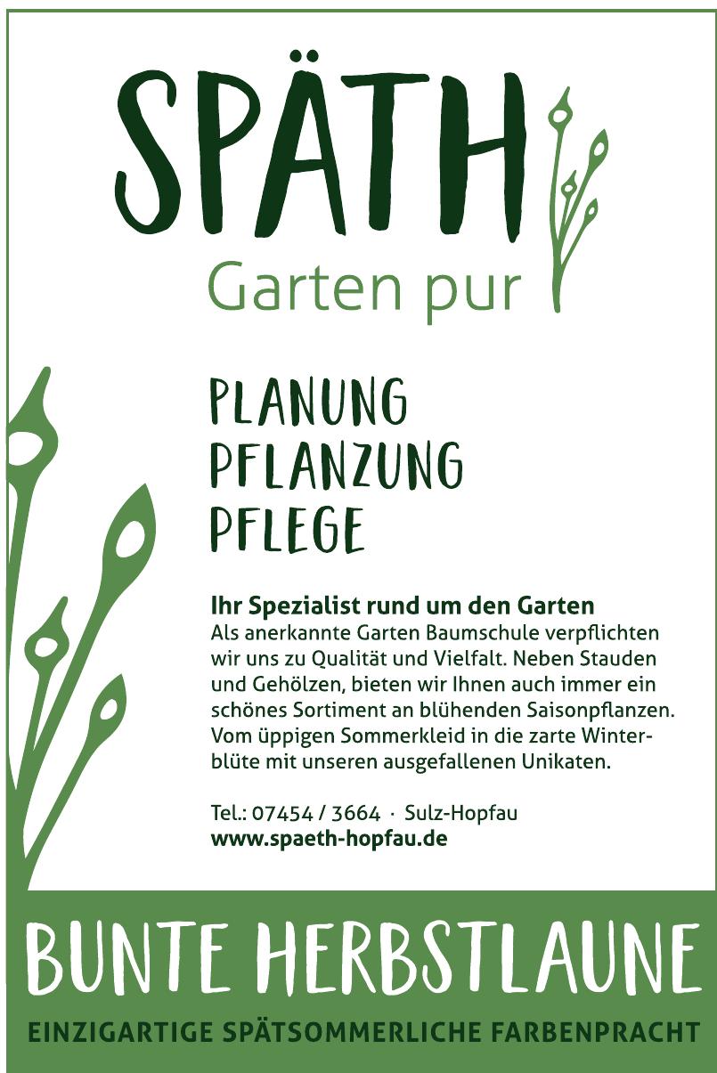 SPÄTH Garten