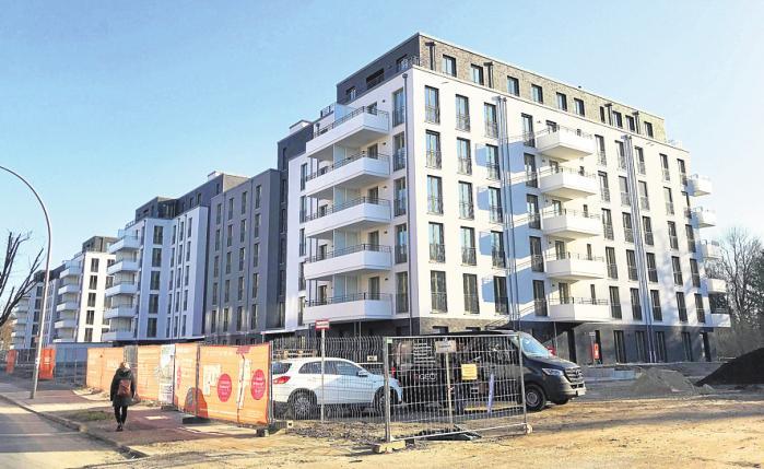 """Die ersten Wohnungen in """"Neumarien"""" wurden bereits im Februar bezogen. Weitere Einheiten werden dieses Jahr fertiggestellt."""