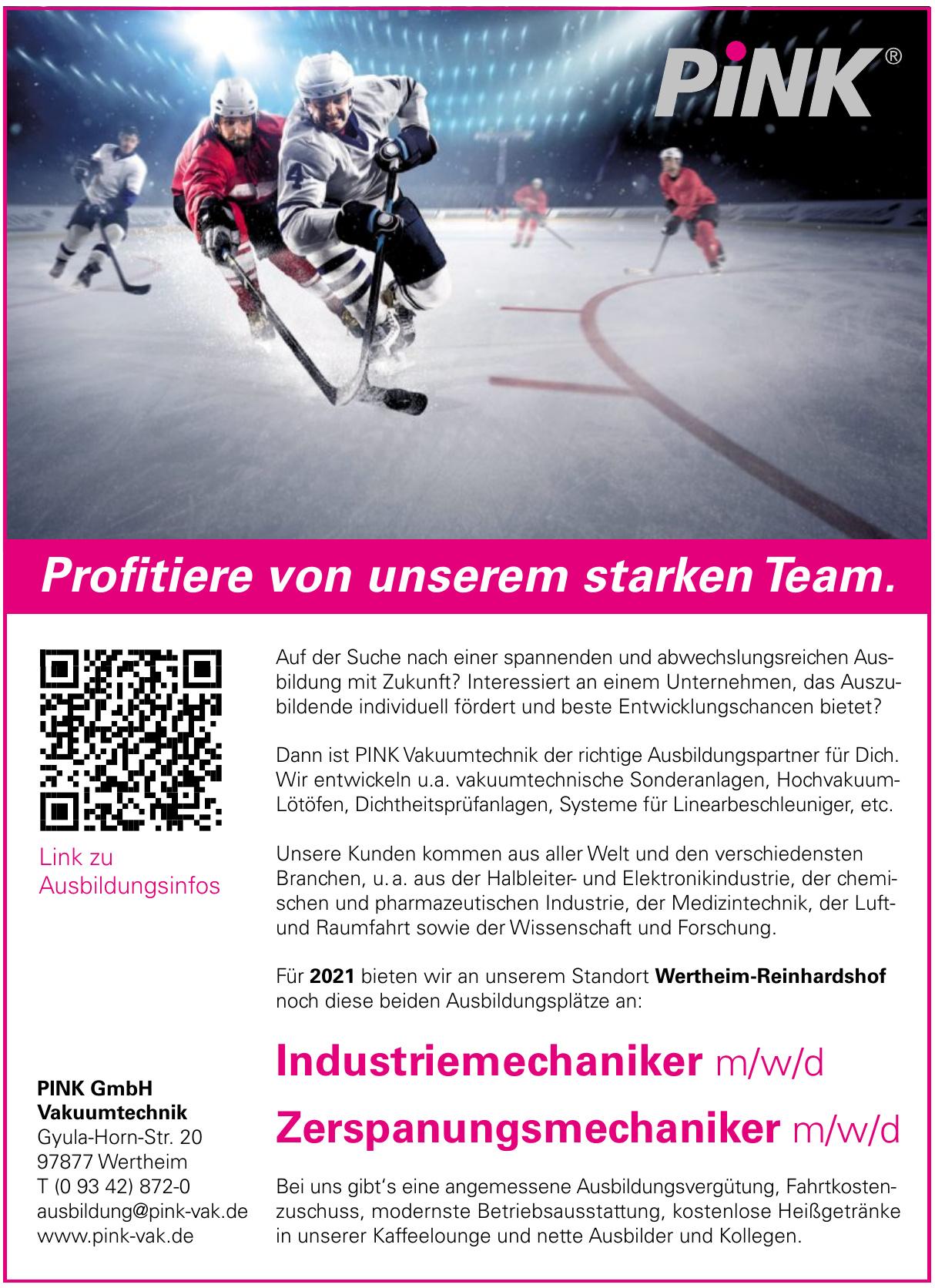 PINK GmbH Vakuumtechnik