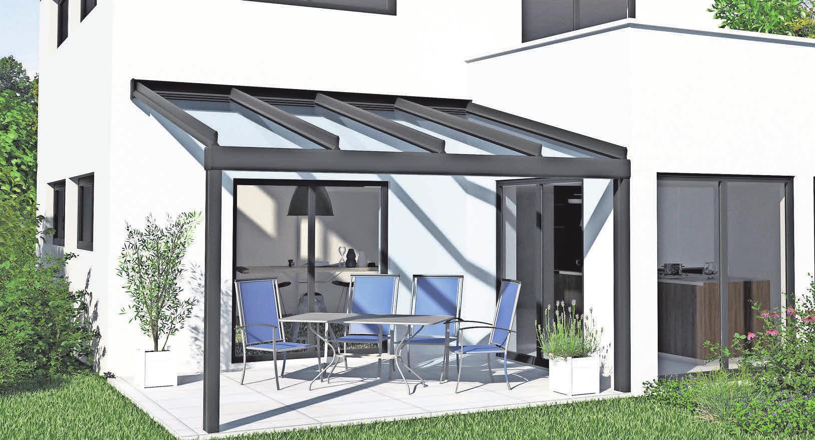Die modernen Dachkonstruktionen von Ehrhardt – für eine langen Sommer im Freien.