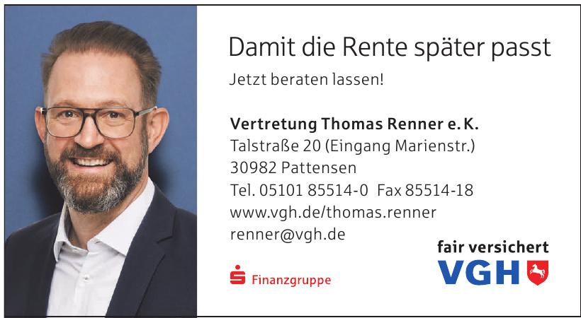 Vertretung Thomas Renner e. K.