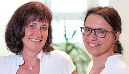 Petra Schmid-Kleinert und Renate Fuhrer, OSTEND-PHYSIO - Praxis für Physiotherapie und Heilpraktik