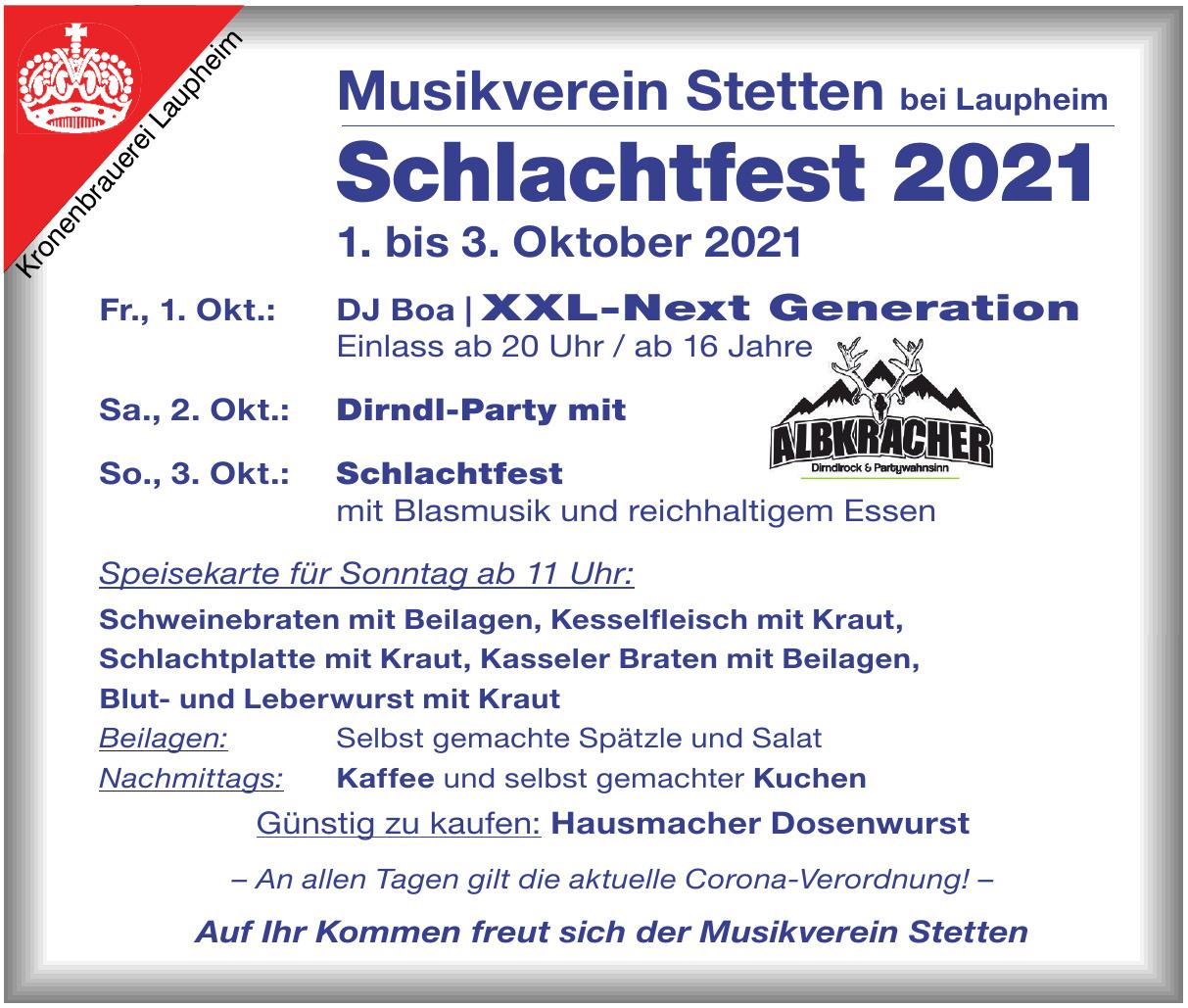 Musikverein Stetten bei Laupheim