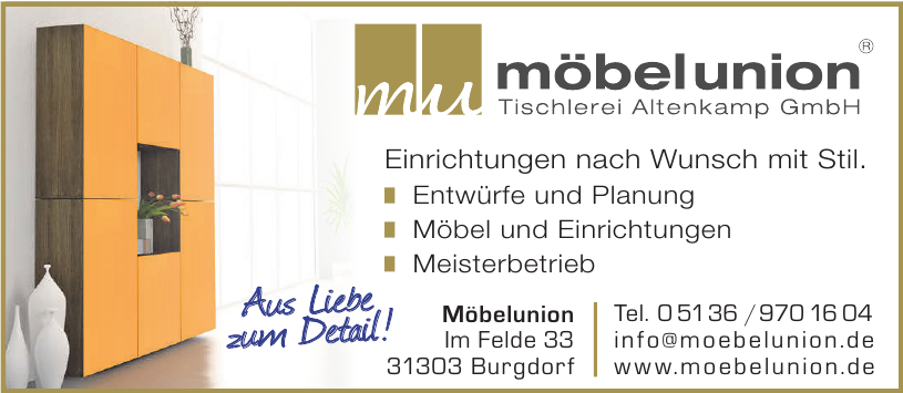 Möbelunion Tischlerei Altenkamp GmbH
