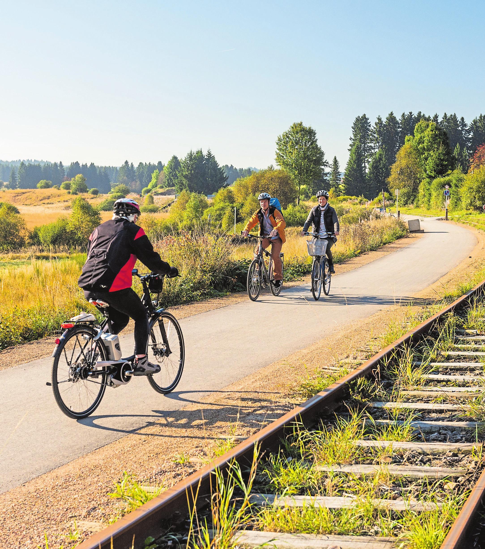 Unter www.velovianorden.lu finden Sie alle nötigen Informationen über die Route. Foto: vennbahn.eu
