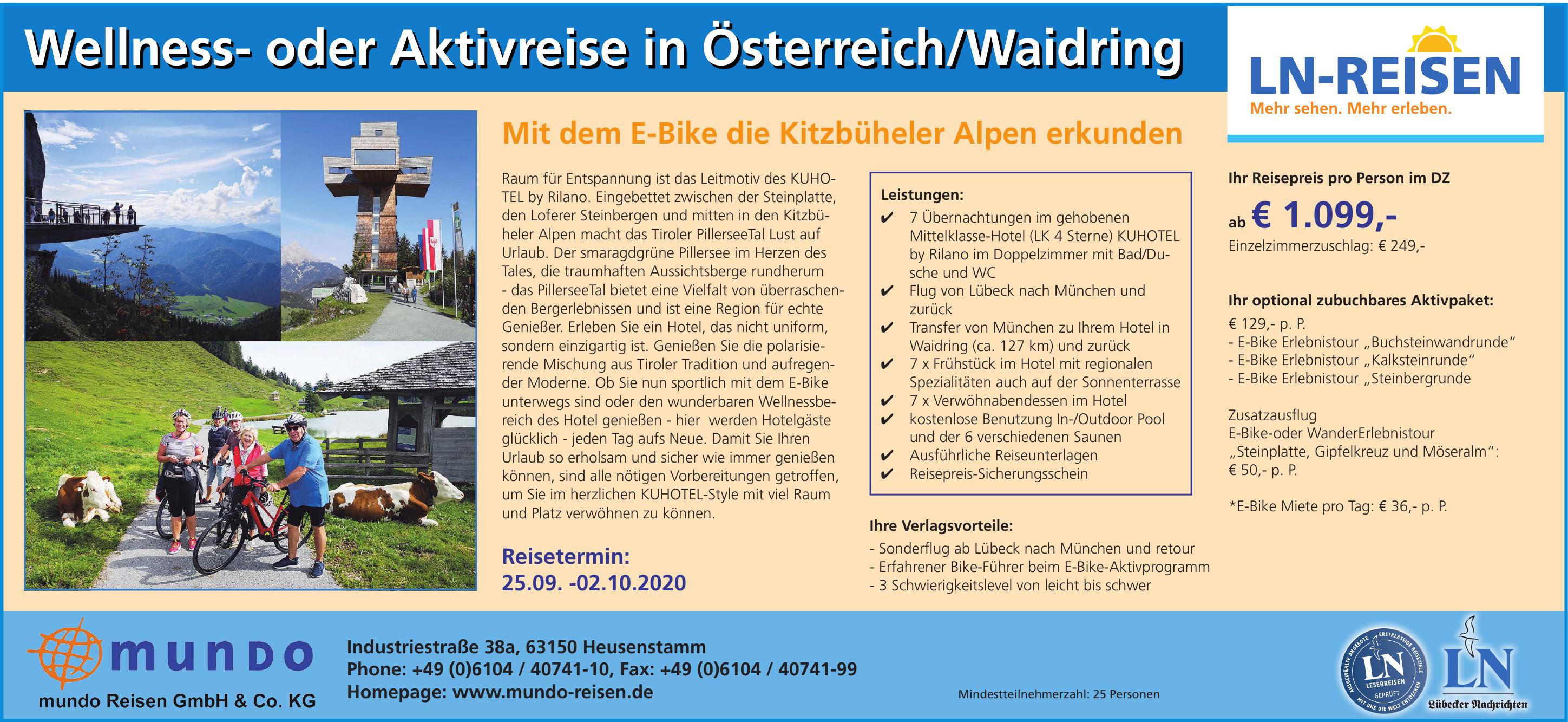 mundo Reisen GmbH & Co. KG