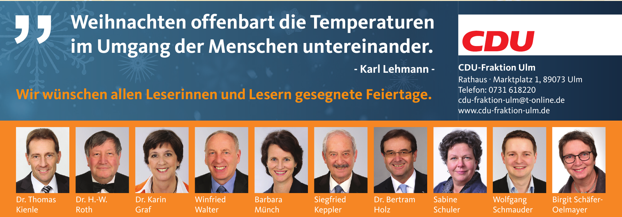 CDU-Fraktion Ulm