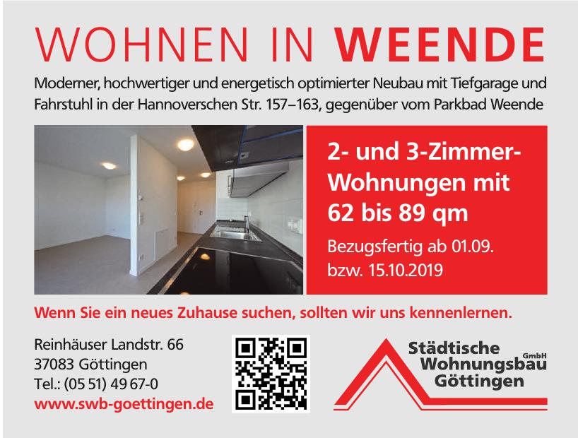 Städtische Wohnungsbau GmbH Göttingen