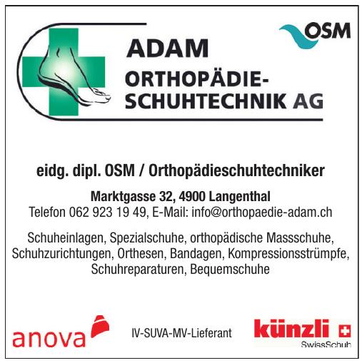Adam Orthopädie-Schuhtechnik AG