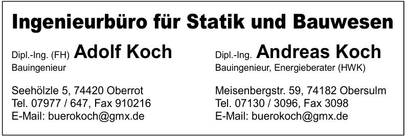 Ingenieurbüro für Statik und Bauwesen