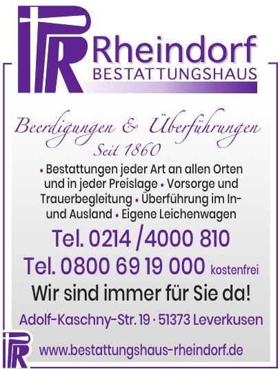 Rheindorf Bestattungshaus