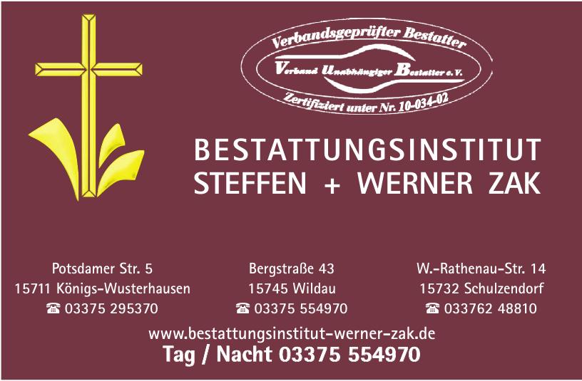 Bestattungsinstitut Steffen + Werner ZAK