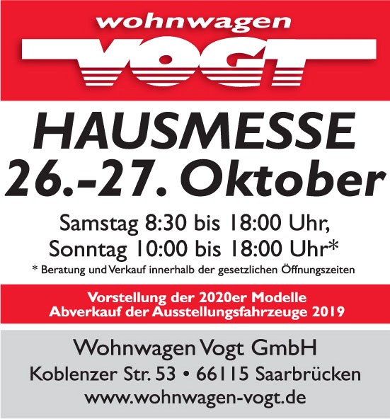 Wohnwagen Vogt GmbH