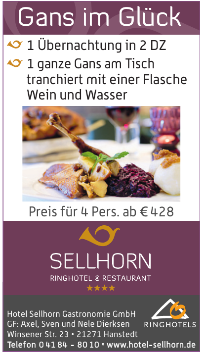 Hotel Sellhorn Gastronomie GmbH