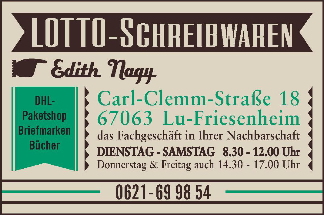 Lotto-Schreibwaren Edith Nagy