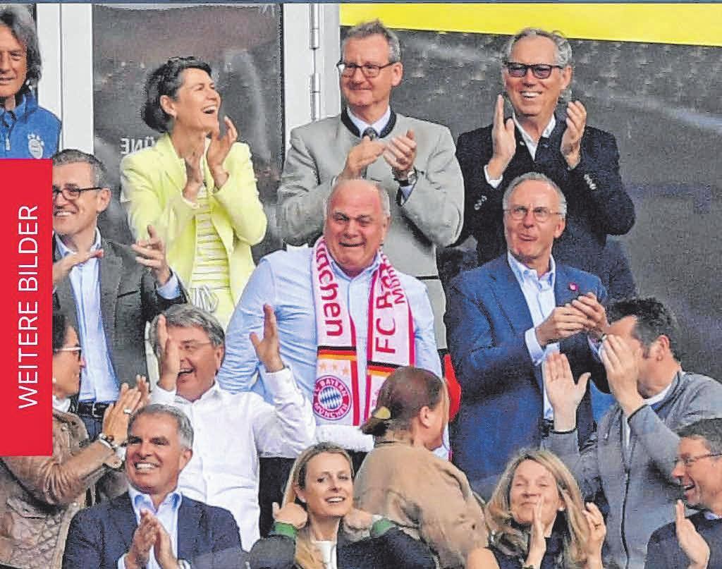Mit BayernVorstand Karl-Heinz Rummenigge ist Mang ebenfalls befreundet. Dass die Bayern jetzt in Lindau spielen, ist ein Freundschaftsdienst von Rummenigge. Der Rekordmeister verlangt für das Spiel kein Honorar. Fotos: R. Halle/oh