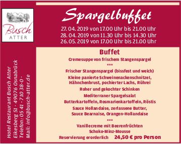 Hotel Restaurant Busch Atter