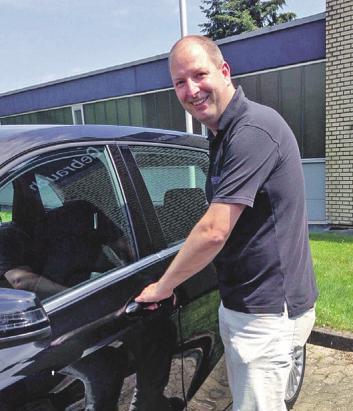 Fachmann für den Mercedes-Service: Jörg Schinke Foto: Dreyer
