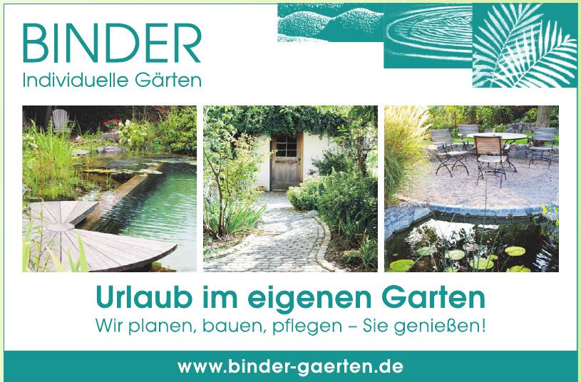 Binder Individuelle Gärten