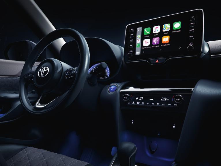 Volle Vernetzung garantiert. Fotos: Toyota