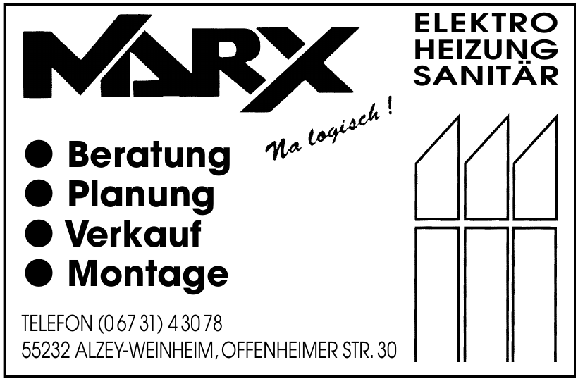Marx Elektro - Heizung - Sanität