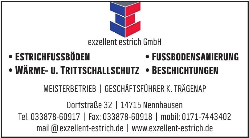 exzellent estrich GmbH