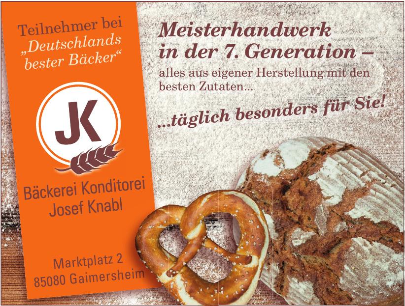 Bäckerei Konditorei Josef Knabl