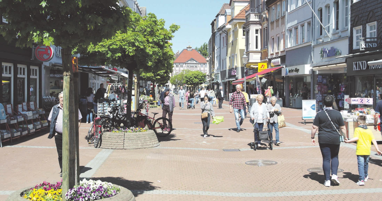 Die Gutscheine können unter anderem in Geschäften der Peiner Fußgängerzone eingelöst werden. Foto: PeineMarketing GmbH