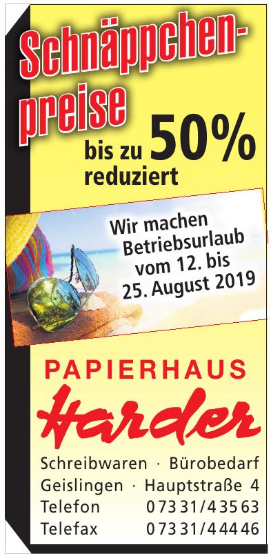 Papierhaus Harder