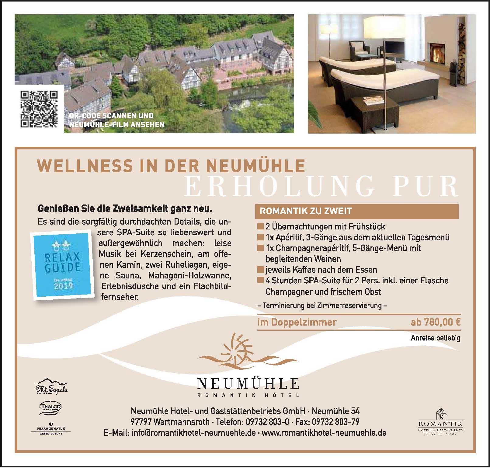 Neumühle Hotel- und Gaststättenbetriebs GmbH