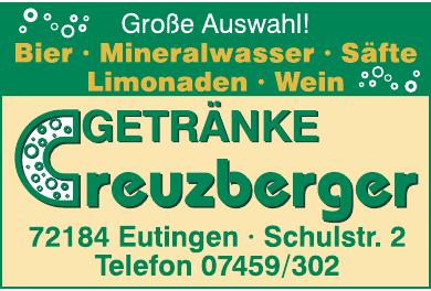 Getränke Creuzberger