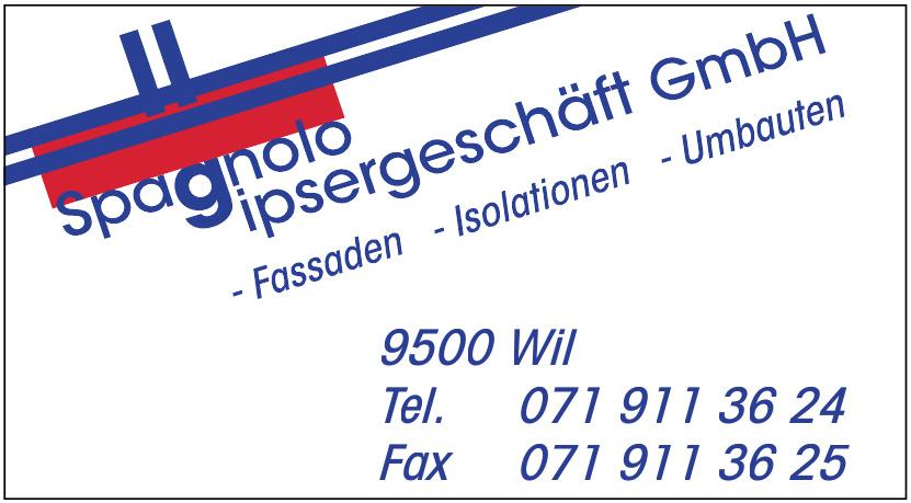 Spagnolo Gipsergeschäft GmbH