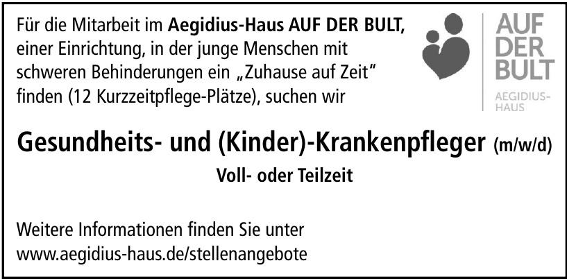 Aegidius-Haus AUF DER BULT