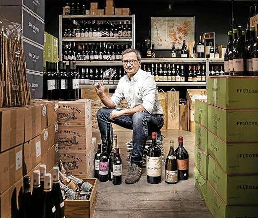Vom günstigen Geheimtipp für jeden Tag bis hin zum gesuchten Spitzencuvée: Bei Marxen/Wein. finden Sie den Wein, der Ihnen schmeckt. FOTO: PEPE LANGE