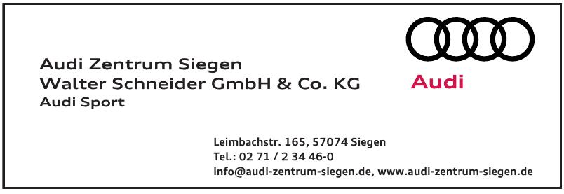 Audi Zentrum Siegen Walter Schneider GmbH & Co. KG
