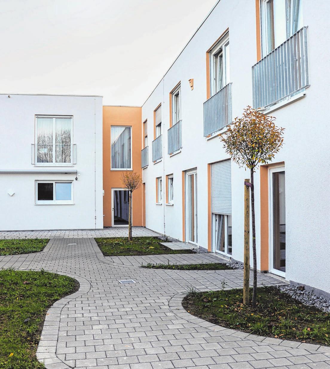 Im Haus Luise von Marillac in Wangen sorgen große Fenster für viel Licht.