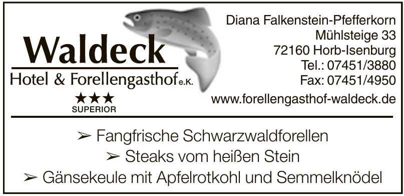 Waldeck Hotel & Forellengasthof e.K.