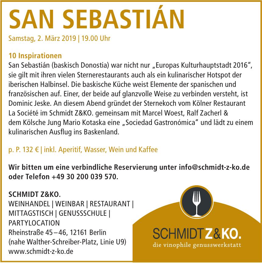 Schmidt Z&KO.