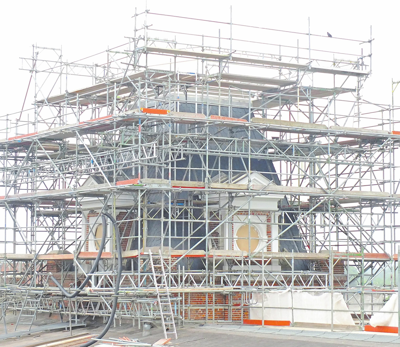 Der Turm stellte bei der Sanierung eine besondere Herausforderung dar – und ist heute ein Schmuckstück.