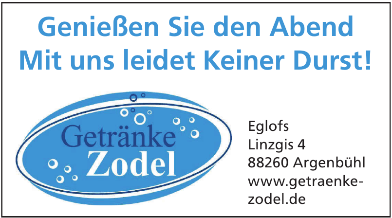 Getränkemarkt Zodel