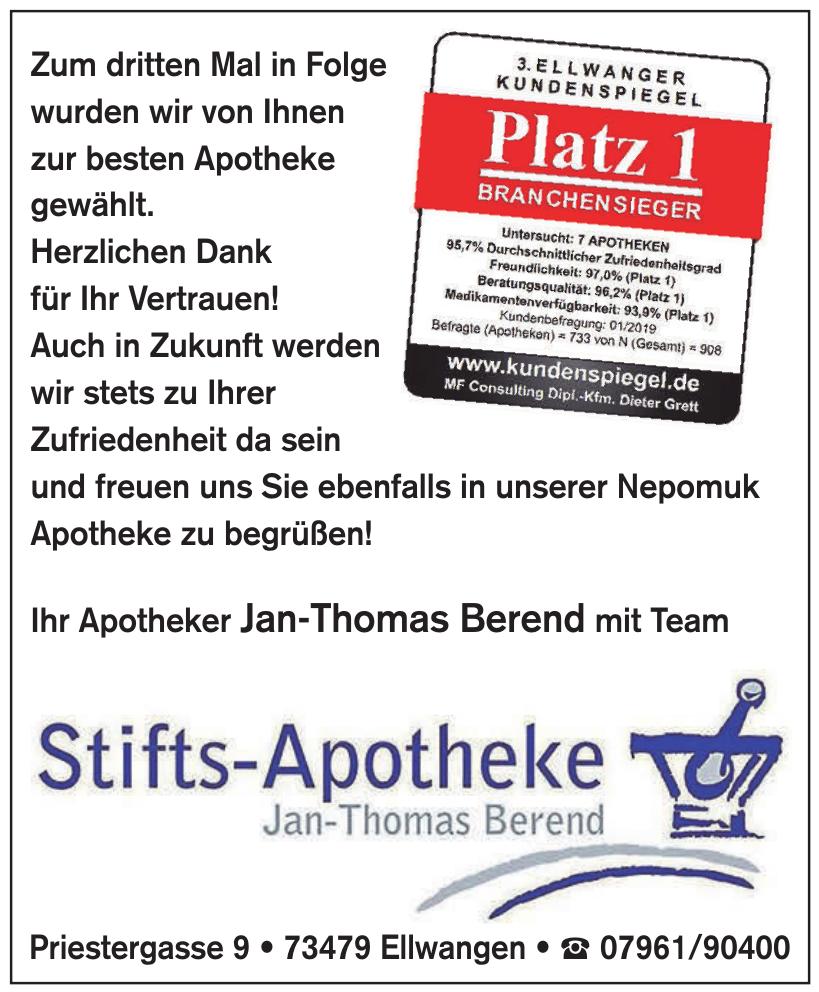 Stifts-Apotheke Jan-Thomas Berend