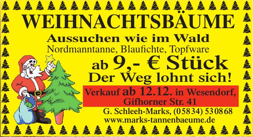G. Schleeh-Marks