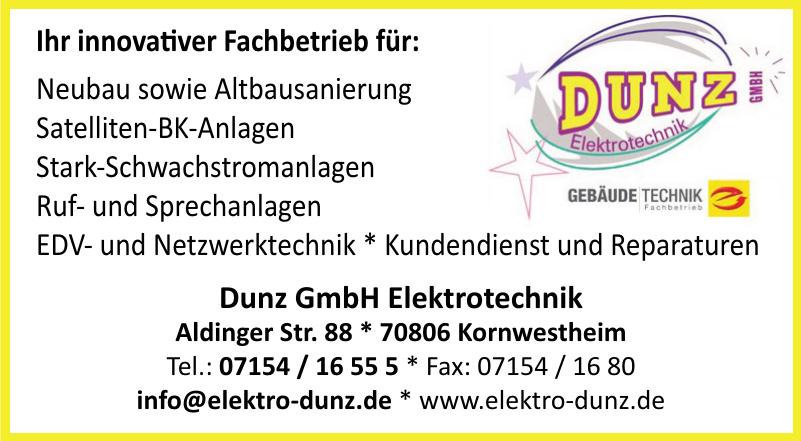 Dunz GmbH Elektrotechnik