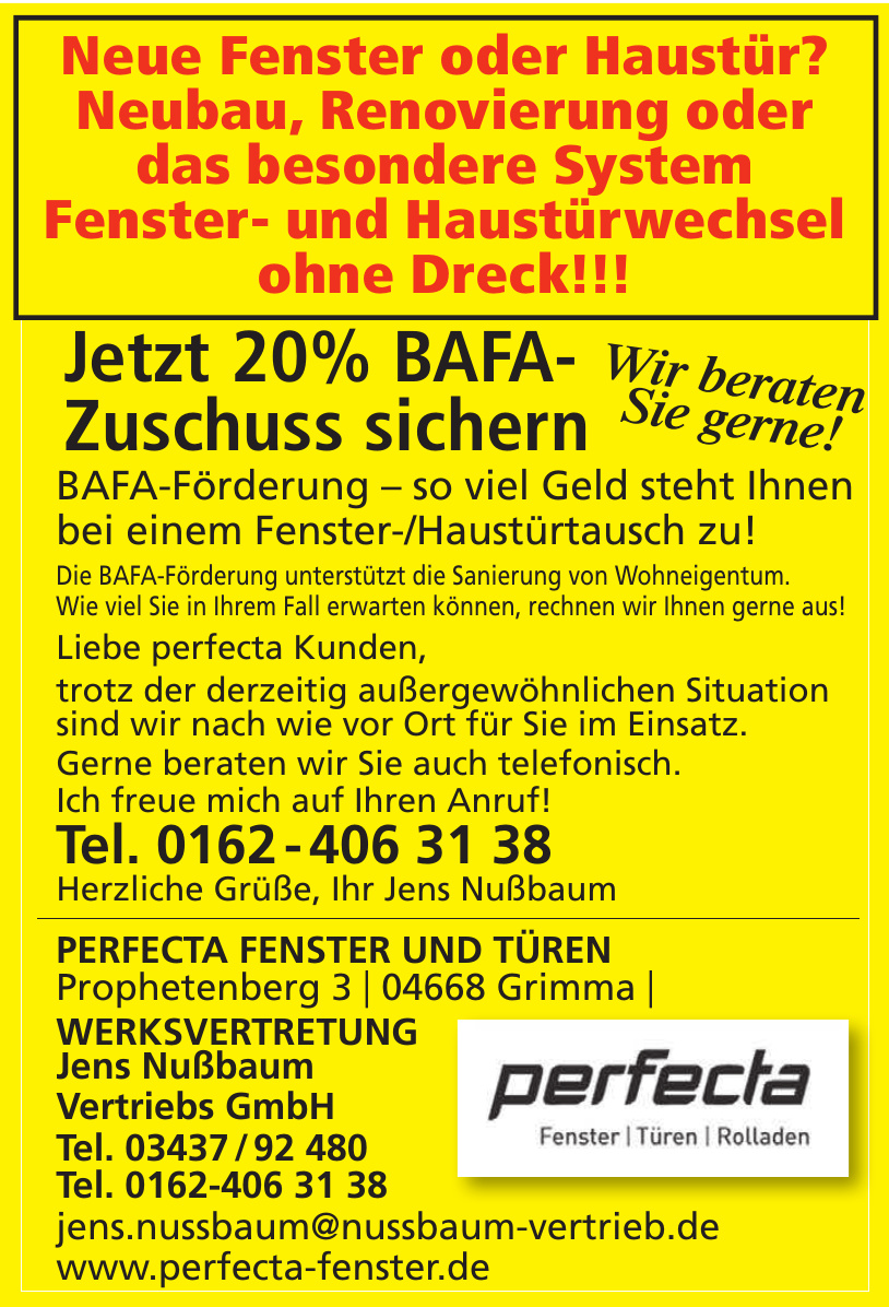 perfecta - Jens Nußbaum Vertriebs GmbH
