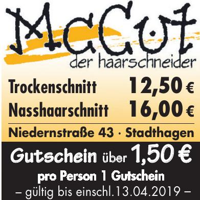 Mc Cut der haarschneider