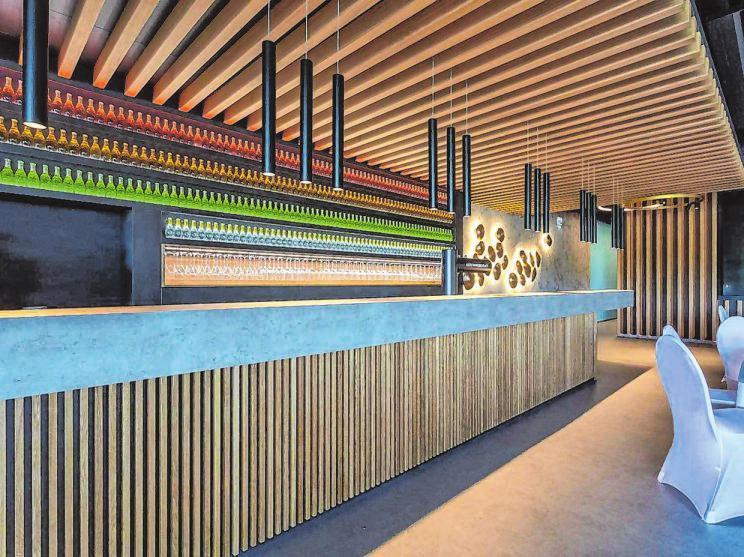 Die Innenräume strahlen den Sinn für das Besondere aus und überzeugen mit modernster technischer Raffinesse.