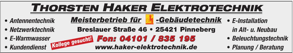 Thorsten Haker Elektrotechnik