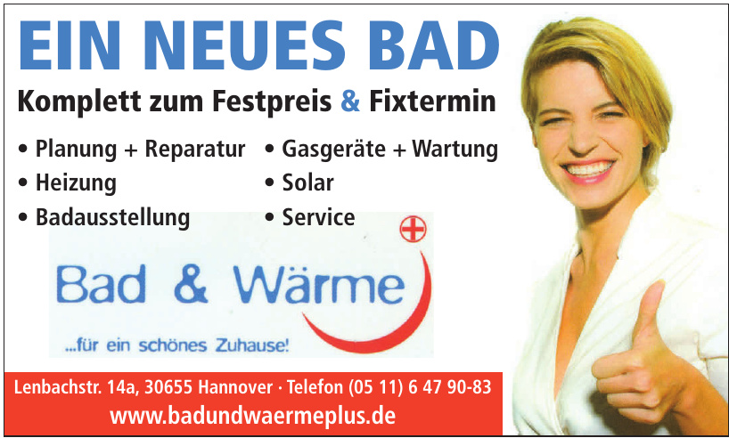 Bad & Wärme Plus