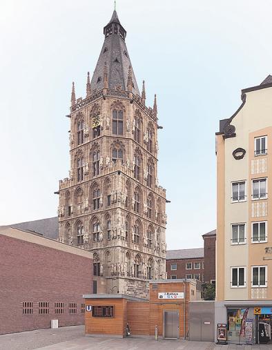 Adventssingen mit dem KVB-Orchester auf dem Severinskirchplatz in der Südstadt endete wegen starken Regens leider vorzeitig Image 2
